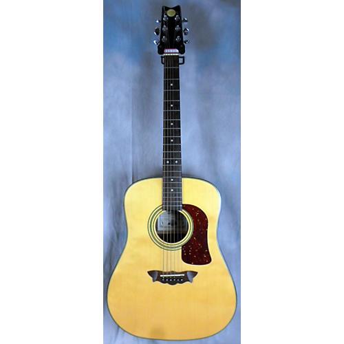 Washburn Dx2000e Natural Acoustic Electric Guitar