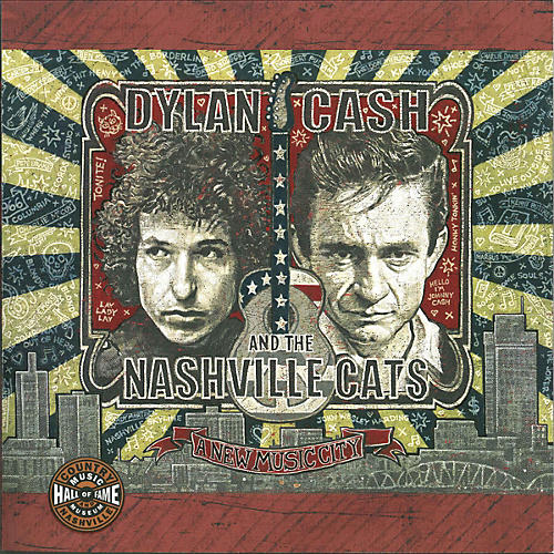 Country Music Hall of Fame Dylan, Cash and the Nashville Cats (A New Music City) Book Series Softcover by Country Music Hall of Fame