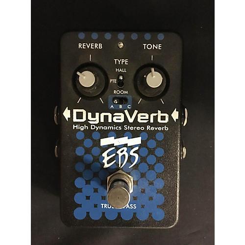 EBS DynaVerb High Dynamics Stereo Reverb Bass Effect Pedal-thumbnail