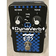 EBS DynaVerb High Dynamics Stereo Reverb Bass Effect Pedal