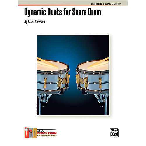 Alfred Dynamic Duets for Snare Drum Book