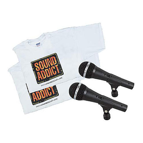 Audio-Technica Dynamic Mic and T Shirt Bonus Pack Two-for-One Deal