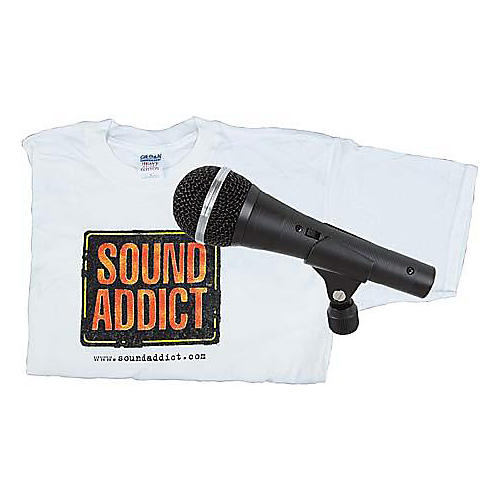 Audio-Technica Dynamic Mic and T-Shirt Bonus Package