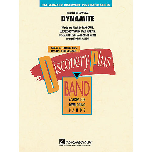 Hal Leonard Dynamite - Discovery Plus Band Level 2 arranged by Paul Murtha