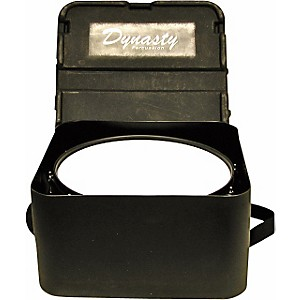 DEG Dynasty Marching Snare drum case, square, black molded for concert or W... by DEG