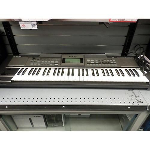 used roland e 09 keyboard arranger keyboard workstation guitar center. Black Bedroom Furniture Sets. Home Design Ideas