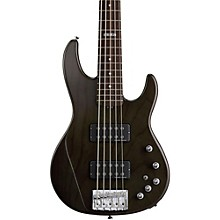 ESP E-II AP-5 5 String Electric Bass Guitar Level 1 See-Thru Black