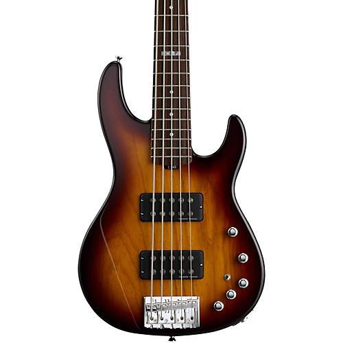 ESP E-II AP-5 5 String Electric Bass Guitar Tobacco Sunburst