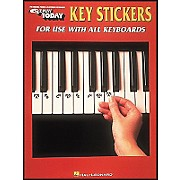 E-Z Play Key Stickers for Use with All Keyboards