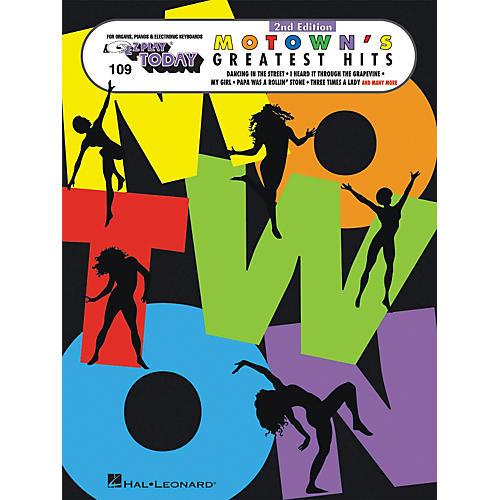 Hal Leonard E-Z Play Today No. 109 - Motown's Greatest Hits-thumbnail