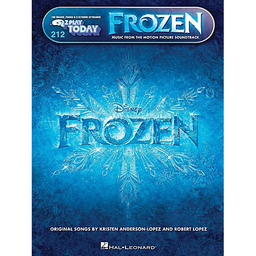 Hal Leonard E-Z Play Today Volume 212 Frozen - Music From The Motion Picture-thumbnail