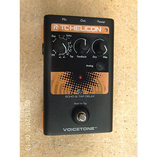 TC Helicon E1 Eho & Tap Delay Effect Pedal-thumbnail