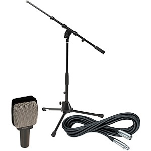 Sennheiser E609 Dynamic Guitar Microphone with Stand and Cable