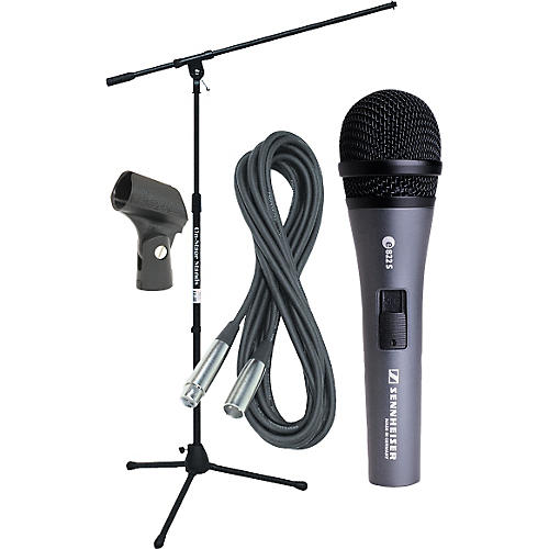 Sennheiser E822 Mic with Stand, Cable & Clip