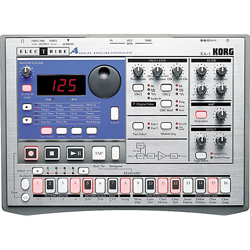 Korg EA-1 Electribe with Backpack-thumbnail