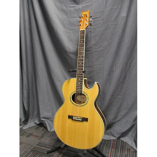 Washburn EA10S DL NAT Acoustic Electric Guitar-thumbnail