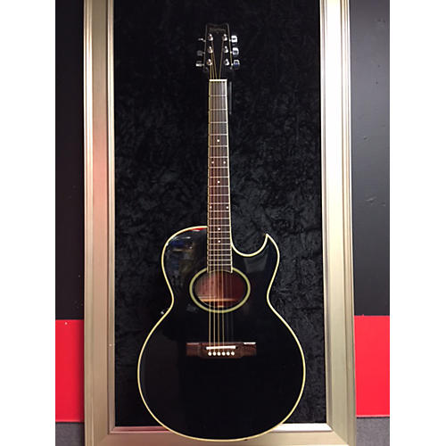 Washburn EA20B Acoustic Electric Guitar-thumbnail