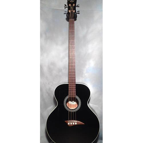 Dean EAB Fretless Acoustic Bass Guitar-thumbnail