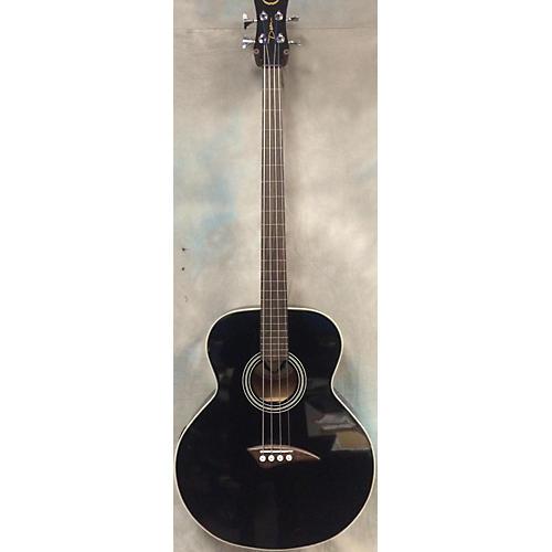 Dean EAB Fretless Acoustic Bass Guitar