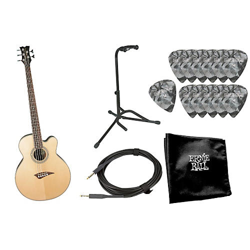 Dean EABC 5-String Acoustic-Electric Bass with Accessory Pack