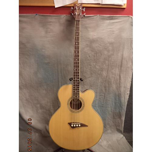 Dean EABC Natural Acoustic Bass Guitar-thumbnail