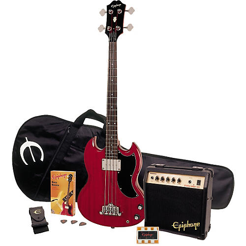 Epiphone EB-0 Gig Rig Bass Player Pack-thumbnail