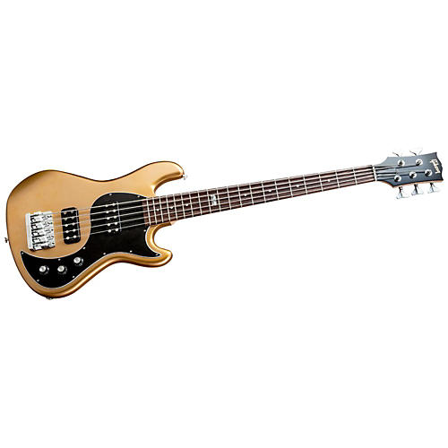 Gibson EB 2014 5 String Electric Bass Guitar Bullion Gold