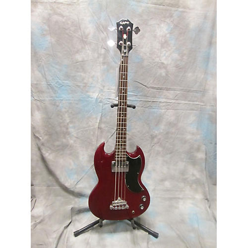 Epiphone EB0 Heritage Cherry Electric Bass Guitar-thumbnail