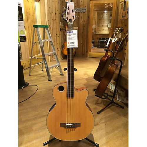 Boulder Creek EBR3-N5F FRETLESS Acoustic Bass Guitar