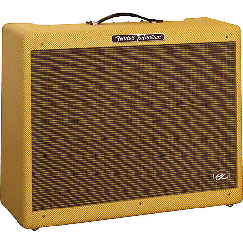 Fender EC Twinolux 40W 2x12 Hand-Wired Tube Guitar Combo Amp Tweed
