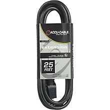 American DJ EC123 12 Gauge IEC Power Extension Cord 50 ft.