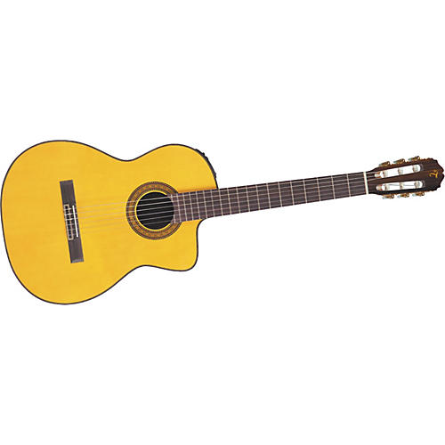 Takamine EC132SC Acoustic-Electric Classical Guitar Natural