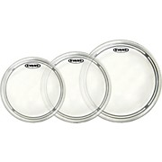 Evans EC2 Clear 12/13/16 Standard Drum Head Pack