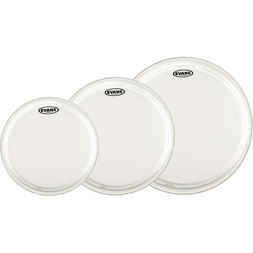 Evans EC2 Coated 10/12/14 Fusion Drum Head Pack-thumbnail
