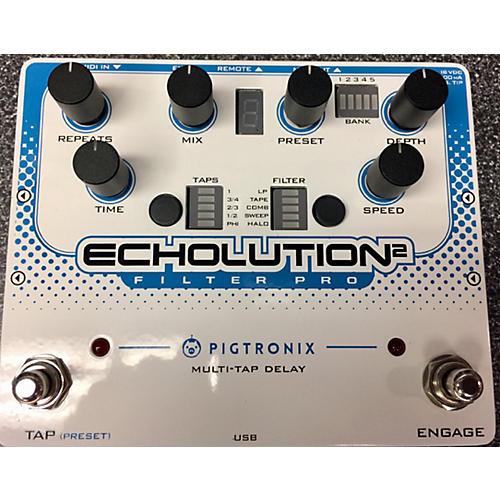 Pigtronix ECHOLUTION 2 FILTER PRO Effect Processor