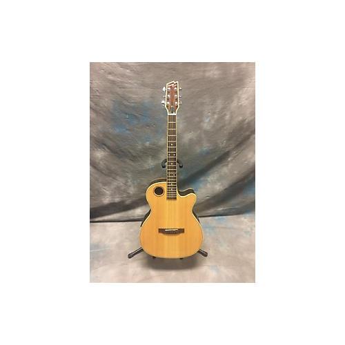 used boulder creek ecrm2 n acoustic electric guitar natural guitar center. Black Bedroom Furniture Sets. Home Design Ideas