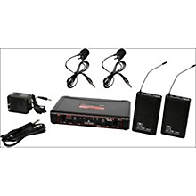 Galaxy Audio EDXR/38VV Dual-Channel Wireless Lavalier System