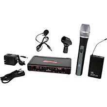 Galaxy Audio EDXR/HHBPV Dual-Channel Wireless Handheld and Lavalier System