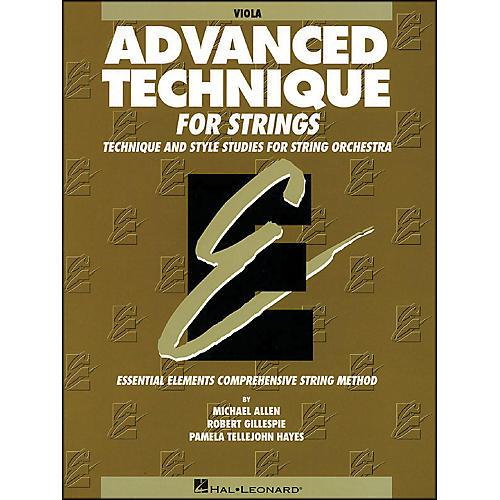 Hal Leonard EE Advanced Technique for Strings Viola-thumbnail
