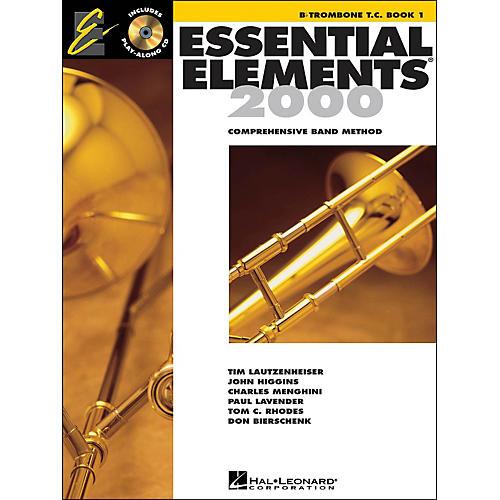 Hal Leonard EE2000 B Flat Trombone T.C. Book 1 CD/Pkg-thumbnail