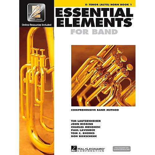 Hal Leonard EE2000 E-Flat Tenor (Alto) Horn Book 1 Book/CD-thumbnail