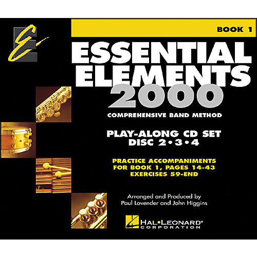 Hal Leonard EE2000 Play Along Trax 3-CD Set-thumbnail