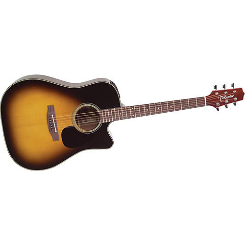 Takamine EF340SC Dreadnought Acoustic-Electric Guitar-thumbnail