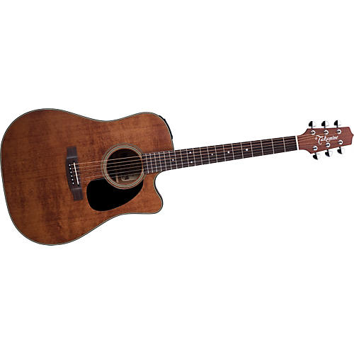 Takamine EF340SCGN Dreadnought Antique Acoustic-Electric Guitar Natural