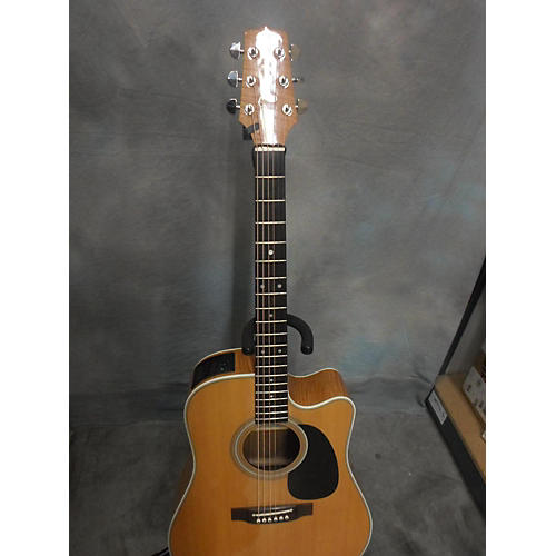 Takamine EF350MHC Natural Acoustic Guitar-thumbnail