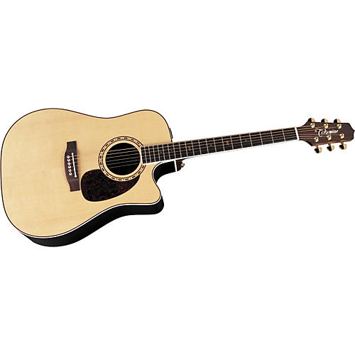 Takamine EF360SC Acoustic Electric Guitar Natural