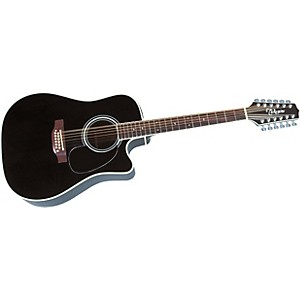 Takamine EF381SC 12 String Acoustic-Electric Cutaway Guitar by Takamine