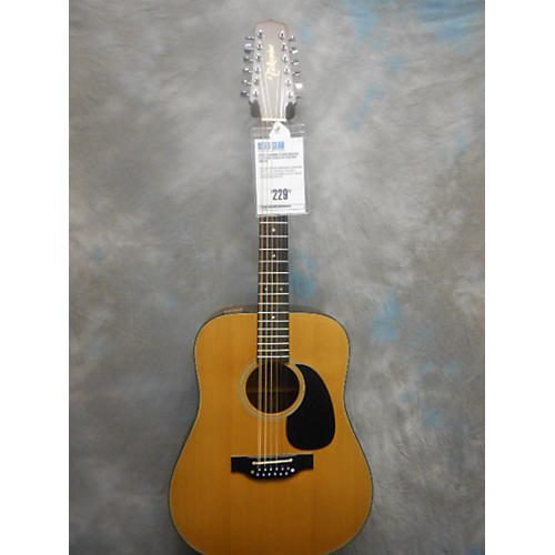 Takamine EF385 12 String Acoustic Electric Guitar Natural