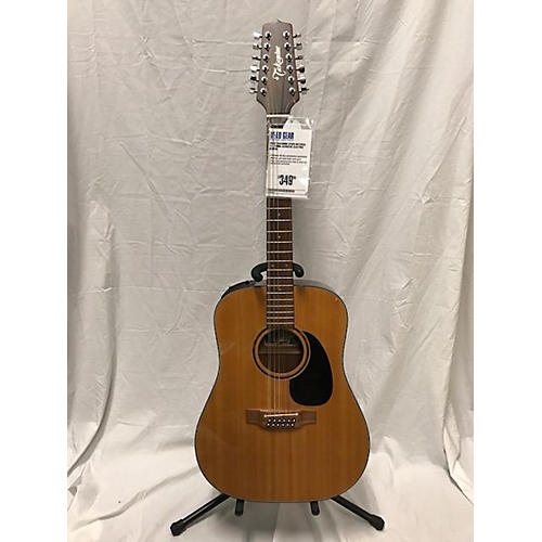 Takamine EF385 12 String Acoustic Electric Guitar-thumbnail
