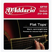 D'Addario EFT17 Flat Top PB Medium Acoustic Guitar Strings